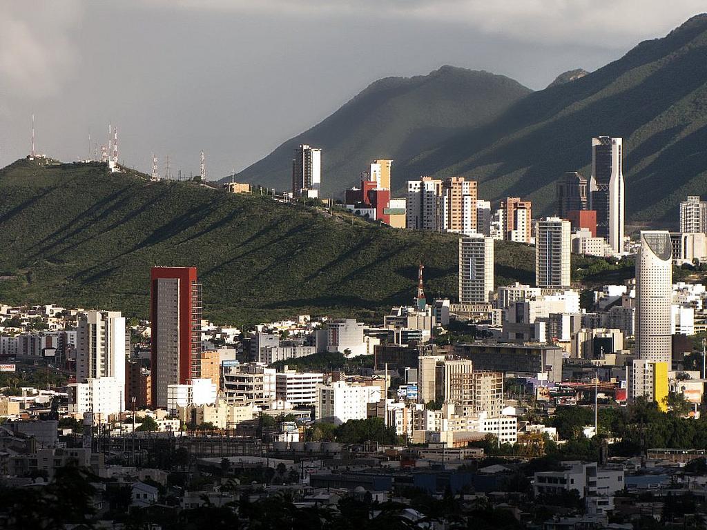 panorámica de Monterrey