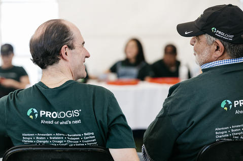Team Prologis during Impact Day 2018