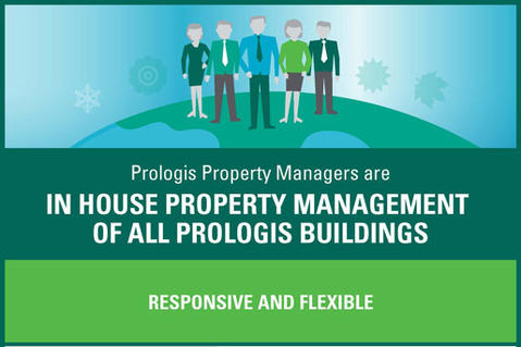 Prologis Property Managers infographic